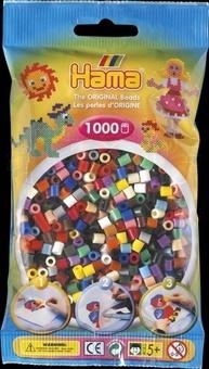 Zažehlovací korálky mix 1000ks v sáčku