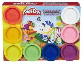 Hasbro Modelína Play-Doh základní sada 8 kelímků 448g.