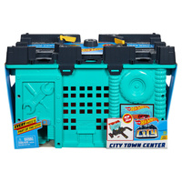 Mattel Hot Wheels dráha City Town Center v boxu