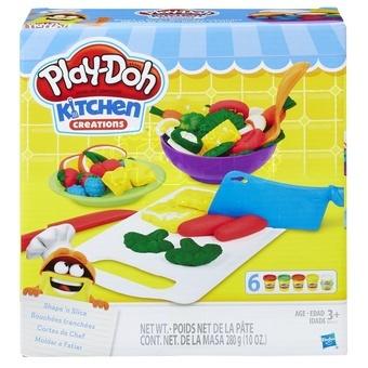 Hasbro Modelína Play-Doh Sada prkýnek a kuchyňského náčiní 6kelímků 208g
