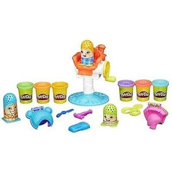 Hasbro Modelína Play-Doh Vlasový salón Crazy Cuts 6 kelímků 336g.