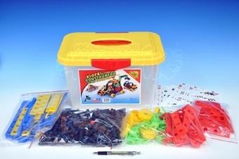 Variant Stavebnice Malý konstruktér 402 dílů v plastovém boxu