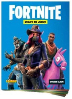 Panini Album Fortnite Ready to Jumo! A4
