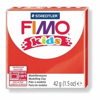 Modelovací hmota Fimo kids 42g červená