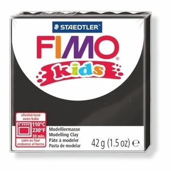 Modelovací hmota Fimo kids 42g černá