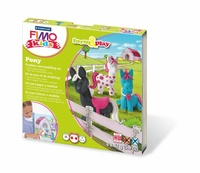 Sada Fimo kids Form & Play Poníci