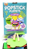 Kreativní sada Popstick puppets Monsters 1909-0004