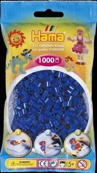 HAMA Zažehlovací korálky MIDI modré