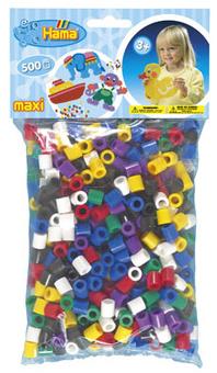 HAMA Zažehlovací korálky MAXI mix barev 500ks