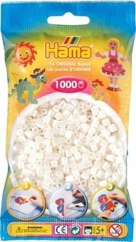 HAMA Zažehlovací korálky MIDI perleťové
