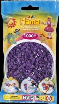 HAMA Zažehlovací korálky MIDI fialové