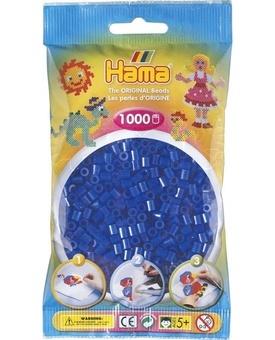 HAMA Zažehlovací korálky MIDI Neonové modré 1000ks