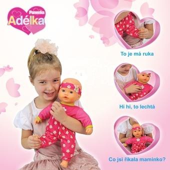 Panenka Adélka mluvící 40 cm