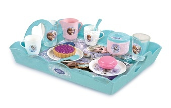 Čajový servis s tácem Ledové království