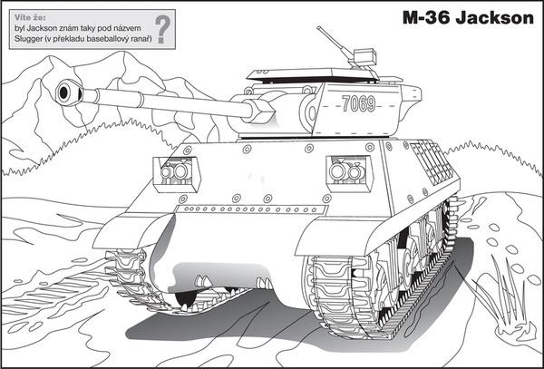 Betexa betexa didaktické omalovánky tanky
